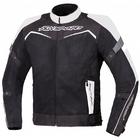 Текстильная куртка Testilo черно-белая