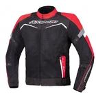 Текстильная куртка Testilo черно-красная