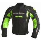 Куртка текстильная SUBWAY черн. Флуоресцентно-желтая