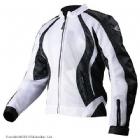 Мотоциклетная текстильная женская куртка XENA белая