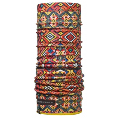 Бандана BUFF POLAR NATIONAL GEOGRAPHIC BUFF BURMAKI MULTI/YELLOW-MULTI