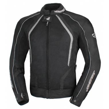 AGVSPORT Текстильная куртка Solare II чёрная