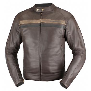 AGVSPORT Кожаная куртка Brut коричневая