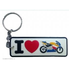 Брелок I love moto