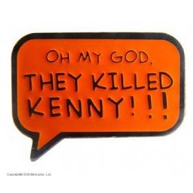 """Значок """"Они убили Кенни"""""""