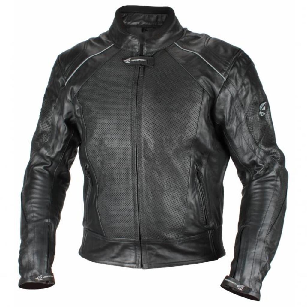 AGVSPORT Мотоциклетная кожаная куртка Breeze перфорированная
