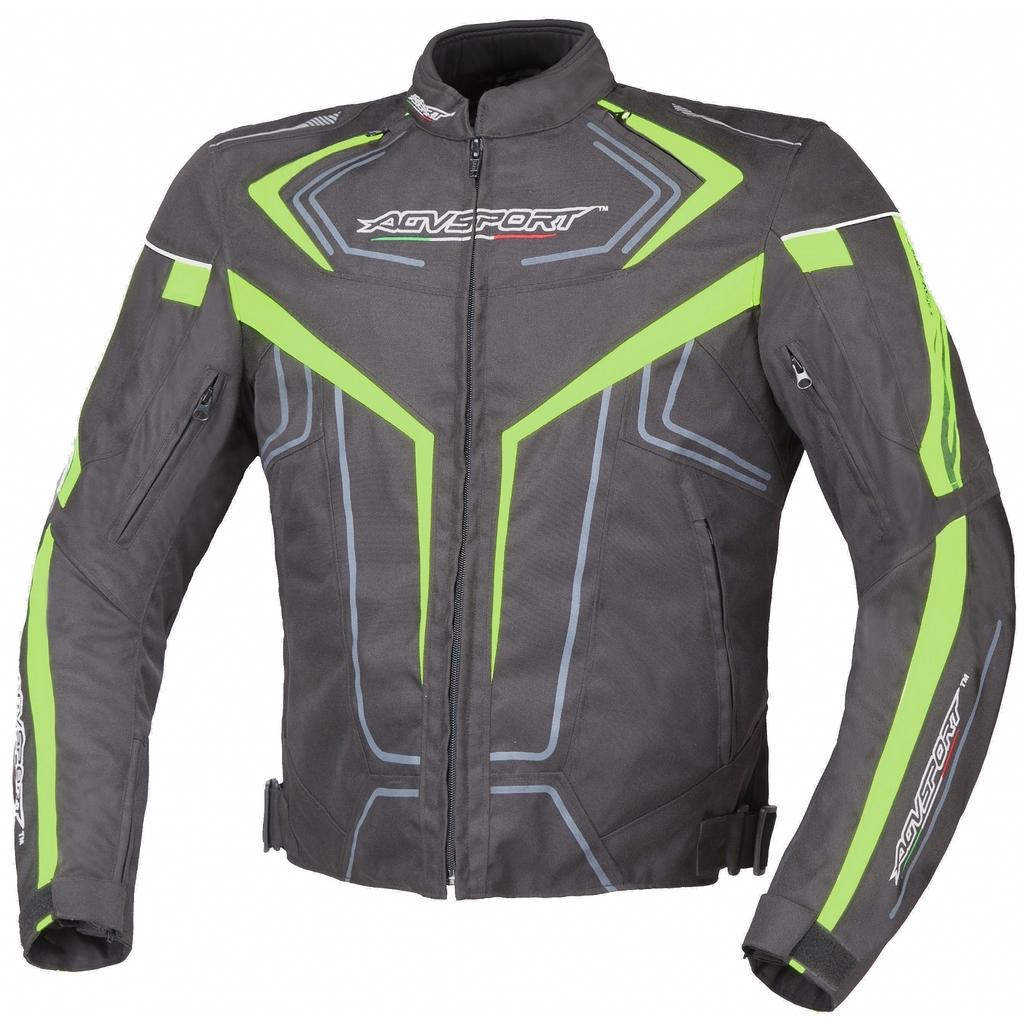 AGVSPORT Куртка текстильная Colomo флуоресцентно-желтая