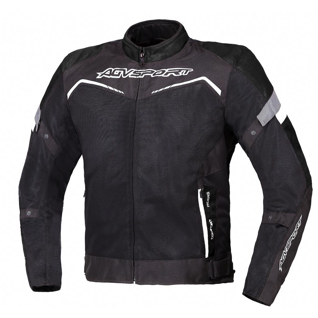 AGVSPORT Текстильная куртка Testilo черная