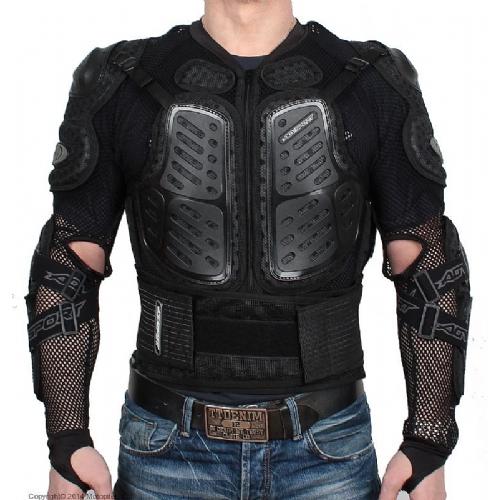 AGVSPORT Черепаха Protection Jacket черная