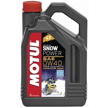 Масло моторное MOTUL Snow Power 0W-40 4Т, 4 л. (105892)