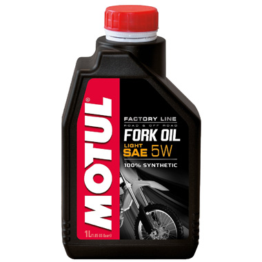 Вилочное масло Motul Fork Oil Factory line Light 5W 1л